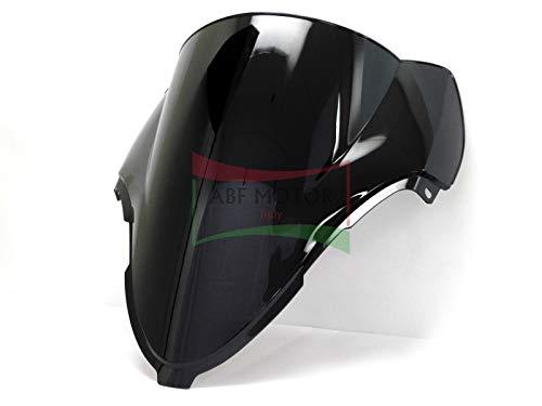 Protek ABS Plastic Injection Black Smoke Double Bubble Transparent Windscreen Windshield for 2006 2007 2008 2009 2010 2011 2012 2013 2014 2015 2016 2017 2018 Kawasaki Ninja ZX14 ZX14R ZX1400C ZX1400A