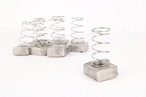 Cooper B-Line Channel Nut With Spring (Lot of 50) N255SS6 Stainless Steel Type