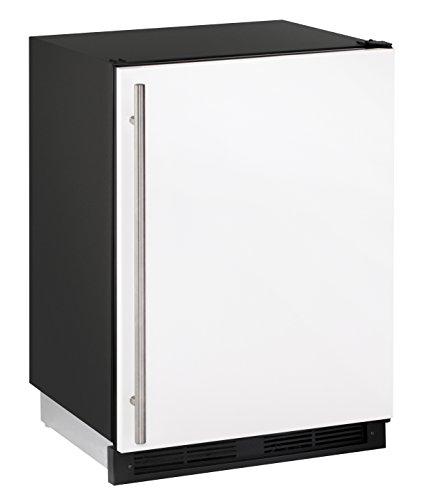 (U-Line UCO1224FW00B 4.2 cu. ft. Built-in Refrigerator/Freezer Combo, White)