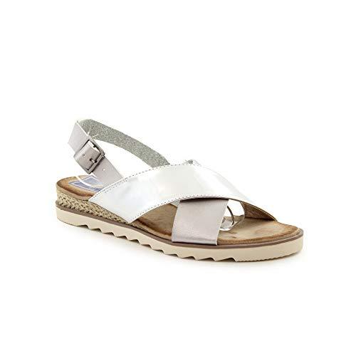 Benavente Femme Chaussures 110172 Chaussures Femme 110172 Argent Benavente qYUOtnpT
