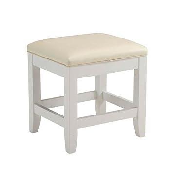 home styles naples vanity bench white finish