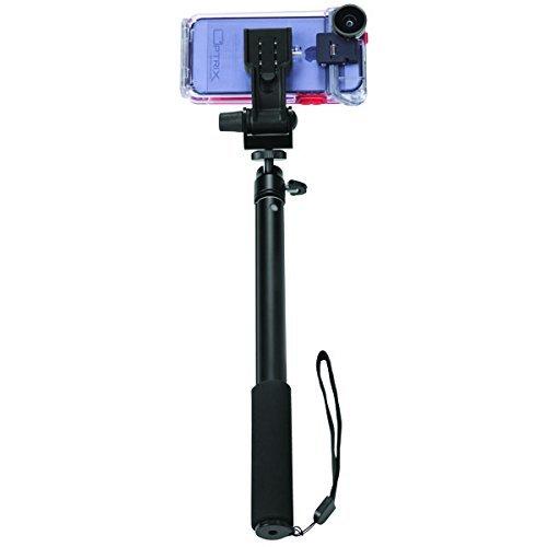Optrix Monopod Selfie Accessory Action Camera Case Black, 9468702 (Action Camera Case Black) (Glove Fellowes Body)