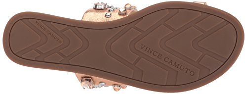 Vince Camuto Women's Emmerly Slide Sandal Metal Rose cheap sale footaction kWYNvpso