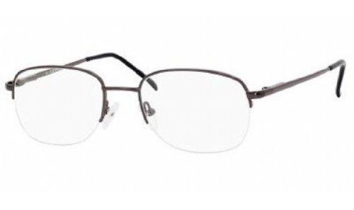 ADENSCO BILL/N Eyeglasses 03WK Gunmetal Demo Lens - 19 55 145