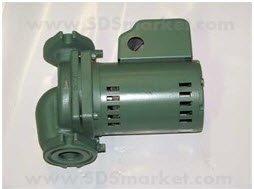 Taco Hot Water Circulator Pump, 1/10HP