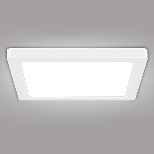 LED Badkamer Plafondlamp – AVANLO 18w Flush Plafondlamp Keuken Lamp, Ø22cm Natuurlijk Licht Keuken Lamp, 2 Installaties…