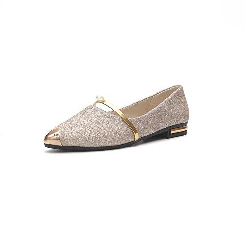 profondo molla Scarpe scarpe da colore puro Thirty glassato casual piatto casual a poco eight fondo donna fondo da donna qvFqB