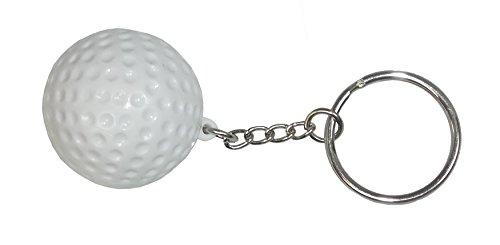 Golf Ball Key - ACI PARTY AND SPIRIT ACCESSORIES Golf Ball Keychain