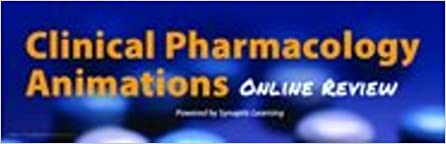 Clinical Pharmacology Animations: Online Review