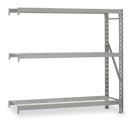 Bulk Storage Rack, Add-On, NSF, 72Wx18D by EDSAL