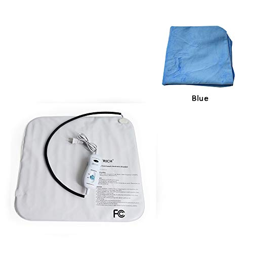 Price comparison product image succeedtop Waterproof Pet Heating Pad Pet Electric Pad110V Pet Warm Electric Heat Heater Pad Mat Waterproof Blanket Bed Dog Cat Electric Warmer Thermal Heated Mat for Dogs Cats,  Indoor Use (Blue)