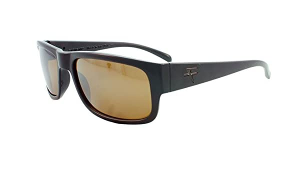 612502ccaed40 Amazon.com  Fatheadz Eyewear Men s Modello V2.0 FH-V031-1BR Polarized  Rectangular Sunglasses