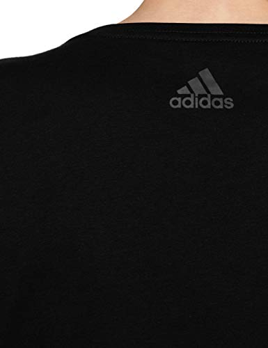 Camiseta Aop Mujer Linear Negro Adidas PxdfwqCf