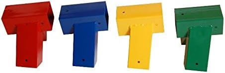 Azul OTITU Just Fun /Ángulo para Columpios de 90x90 mm 100/°