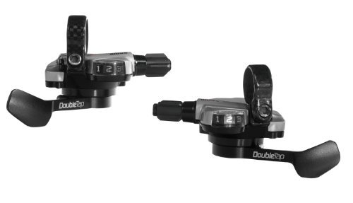 Double Tap Shifters (Sram Double Tap Flat Bar Shifters (10 and 2Speed) (Fits Red/force/Rival) by Sram Road)