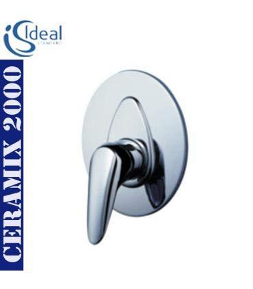 Rubinetteria Ideal Standard Serie Ceramix 2000.Ideal Standard A5028aa Parte Esterna Doccia Incasso Ceramix