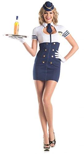 Sexy flight attendant halloween costume