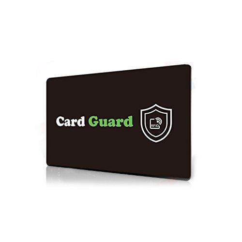 RFID Credit Card Protector/Card Guard Anti Skimming Credit Card Blocker/Passport Data Protector