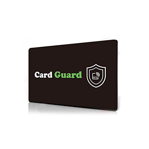 (RFID Credit Card Protector/Card Guard Anti Skimming Credit Card Blocker/Passport Data Protector)