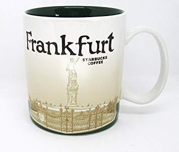 Starbucks Frankfurt Germany Global Icon Series City Mug 16 Oz
