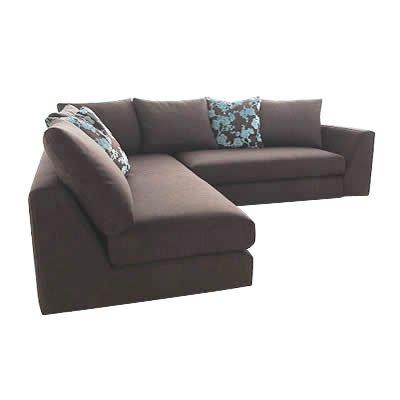 hoxton fabric corner sofa large x large corner unit arms on both