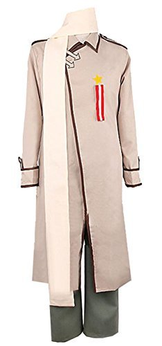 Vicwin-One Axis Powers Hetalia Iwan Russia Cosplay Uniform Suit Outfit Custom Made -