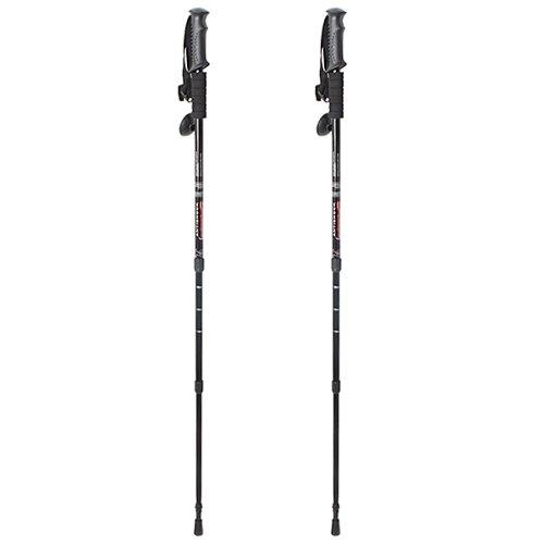 AGPtek Pair 2 Adjustable Anti-Shock Trekking Hiking Sticks P