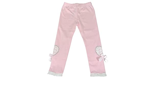 Wrapables Adorable Hearts Toddler Leggings Pink 90cm