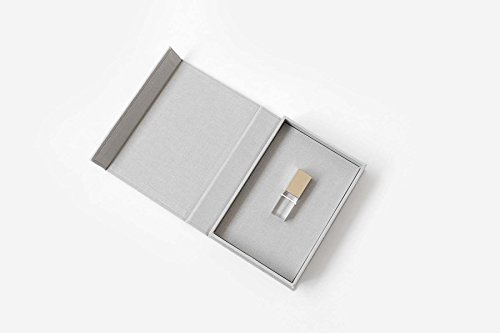 Rospins_Luxury USB Packaging USB box for Photographers-Grey