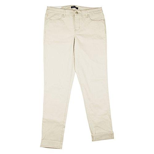 Bandolino Womens Felicia Roll Cuff Relaxed Trouser Pants 16 Creamstone (Bandolino Womens Roll)