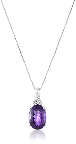 10k-White-Gold-and-Oval-Gemstone-Pendant-Necklace-18