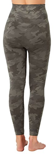 SPANX Look At Me Now Cropped Seamless Leggings (20099r), Sage Camo, XS by SPANX (Image #2)