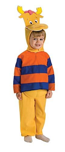 Rubie's Costume Co - Backyardigans Tyrone Child Costume - Medium - Blue/Orange