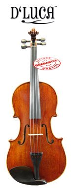 D'Luca CA600VA-16 16-Inch Orchestral Series Flamed Handmade Viola by D'Luca
