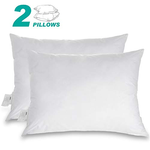 Adoric Bed Pillow, Set of 2 Down Alternative Pillow, Hypoallergenic & Dust Mite Resistant, Comfortable Pillows for Sleeping -Standard Size