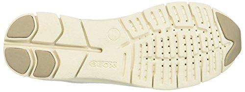 Geox Women's D Sukie a Fashion Sneaker, 7 M US Light Grey