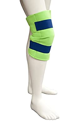 Polar Ice Large Knee Wrap, Cold Therapy Ice Pack, Wearable Ice Pack, Adjustable velcro (Color may vary)