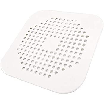 Square Drain Cover For Shower 5 7 Inch Tpr Drain Hair