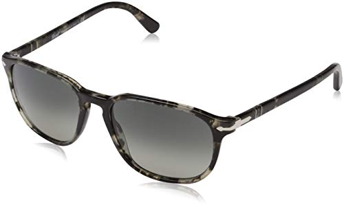 Persol Men's 0PO3019S Grey Spotted Black/Gradient Grey One ()