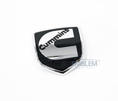 1 NEW CUSTOM 02-05 DODGE RAM 2500 3500 CUMMINS FRONT GRILL EMBLEM BADGE LOGO