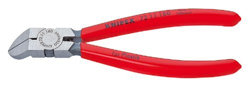 KNIPEX 72 11 160 45-Degree Angle Diagonal Flush Cutters by KNIPEX Tools