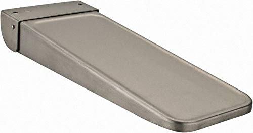 Value Collection - Stainless Steel Washroom Shelf - 14-5/8'' Long x 5-1/2'' Wide x 14-7/8'' Deep, Satin Finish (2 Pack)