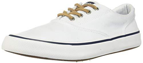 Sperry Men's, Striper II CVO Lace up Shoes White Multi 13 M ()