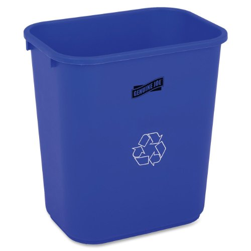 Genuine Joe 28-1/2qt Recycle Wastebasket by Genuine Joe