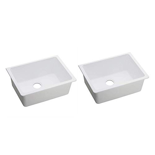 "Elkay Quartz Classic 24"" Rectangular Undermount Single Bowl"