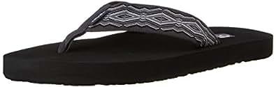 Teva Men's Mush II Flip Flop, Quincy Dark Grey, 7 M US