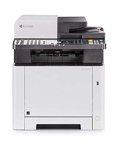 Kyocera Klimaschutz.System Ecosys M5521cdn Farblaser Multifunktionsdrucker. Drucker, Kopierer, Scanner, Faxgerät. Inkl…