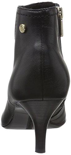 Tommy Hilfiger F1285lora 1a, Zapatillas de Estar por Casa para Mujer Negro - Schwarz (Black 990)
