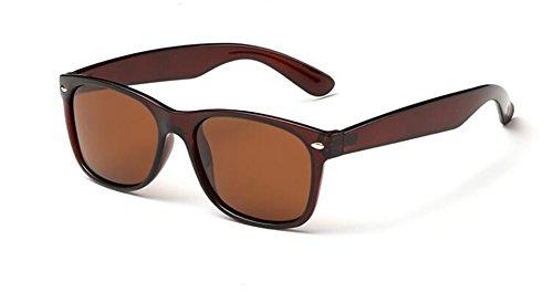 lunettes soleil Tranche en cercle style vintage du Thé de polarisées Lennon de retro inspirées rond métallique rrOwqRn5