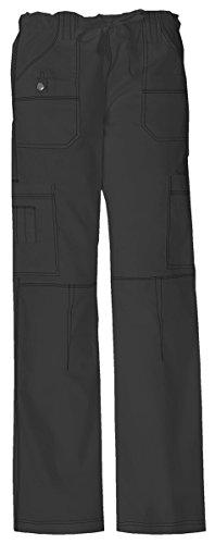 Cotton Twill 3/4 Pant - Dickies Women's Low Rise Drawstring Cargo Pant_Dark Pewter_X-Large,857455
